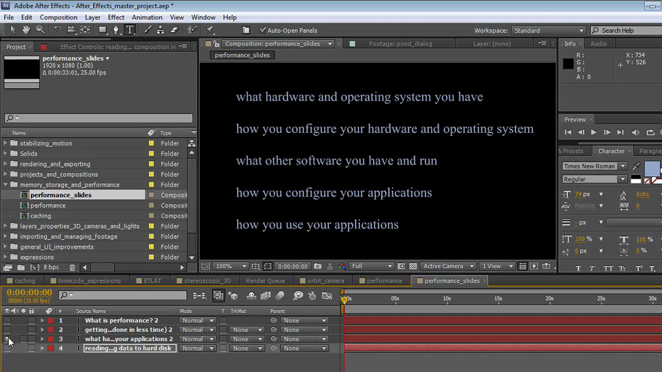 : Optimizing Performance with After Effects and Premiere Pro