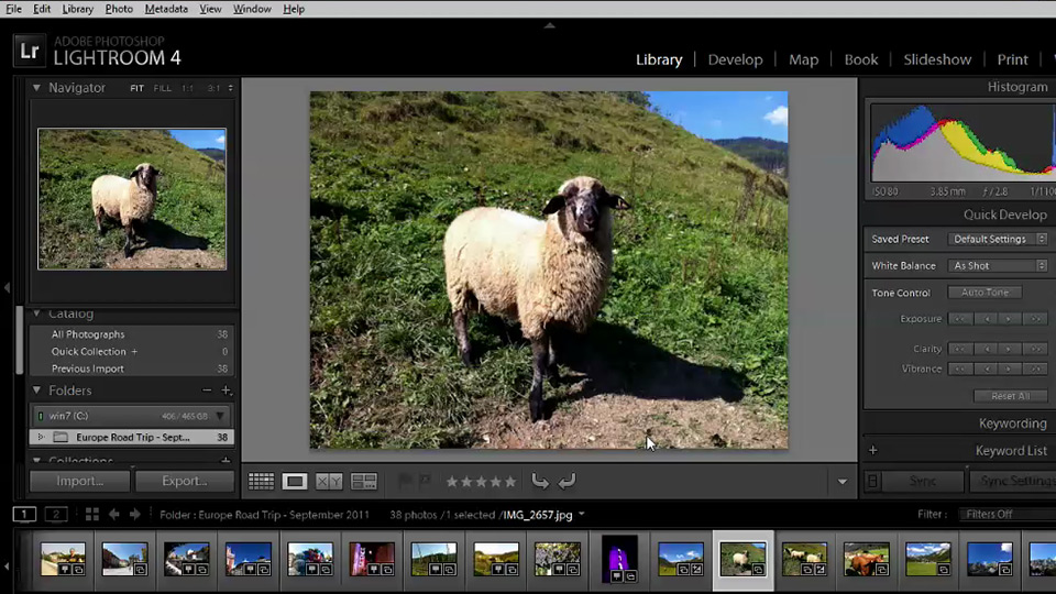 Welcome: Getting Started with Lightroom 4