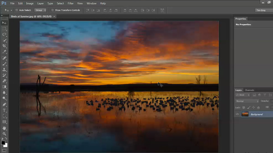 Photoshop CS6: Image Cleanup