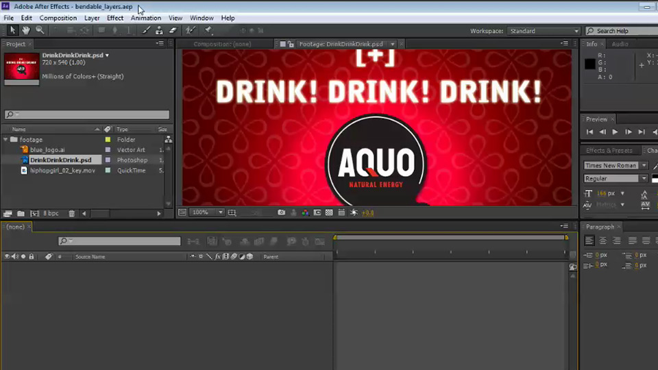 Welcome: After Effects CS6 New Features Overview