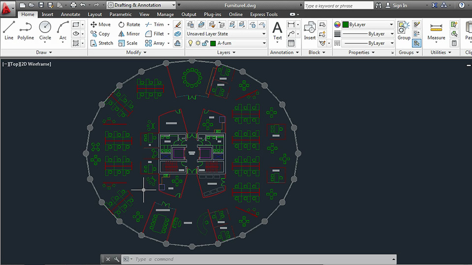 Welcome: Space Planning with AutoCAD 2013