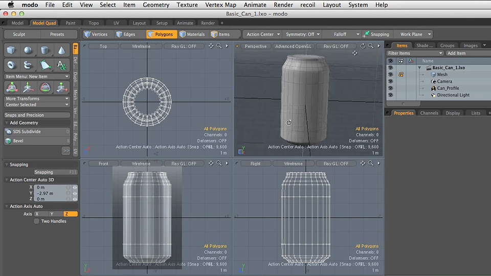 Welcome: Modeling for Product Visualization in MODO