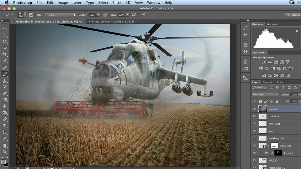 Welcome: Photoshop Artist in Action: Uli Staiger's Perestroika
