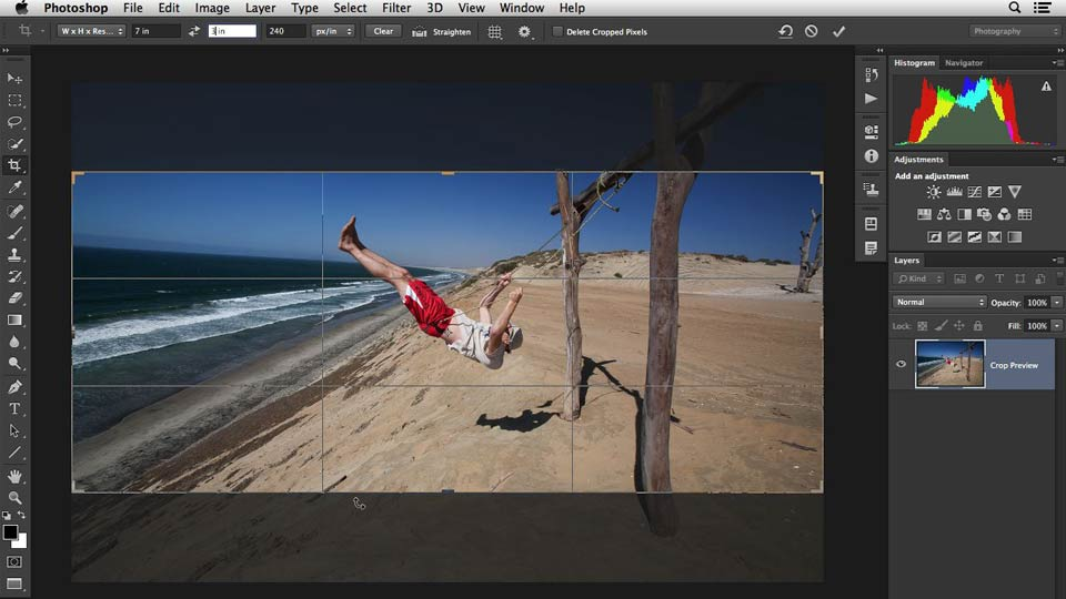 Welcome: Cropping with Photoshop and Lightroom