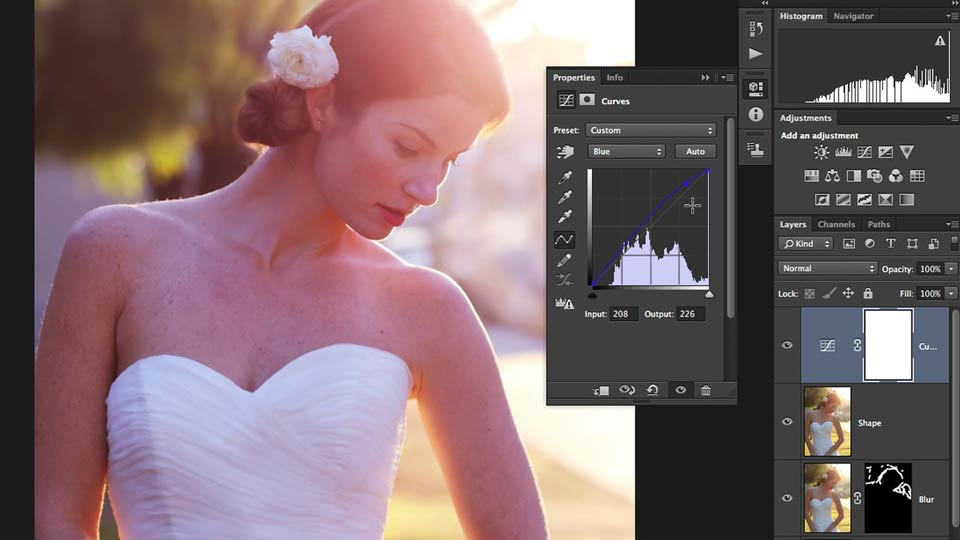 Welcome: Retouching Bridal Portraits with Photoshop