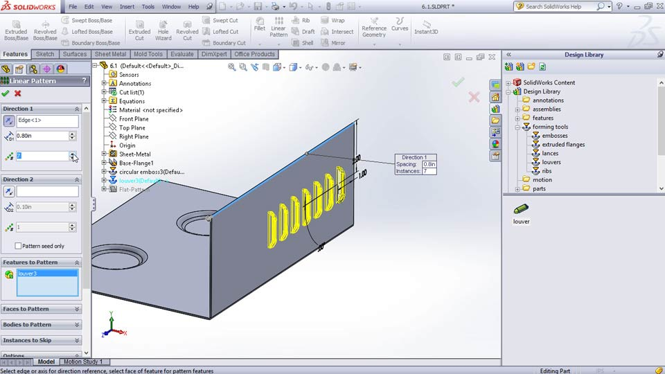 : Sheet Metal Design with SOLIDWORKS