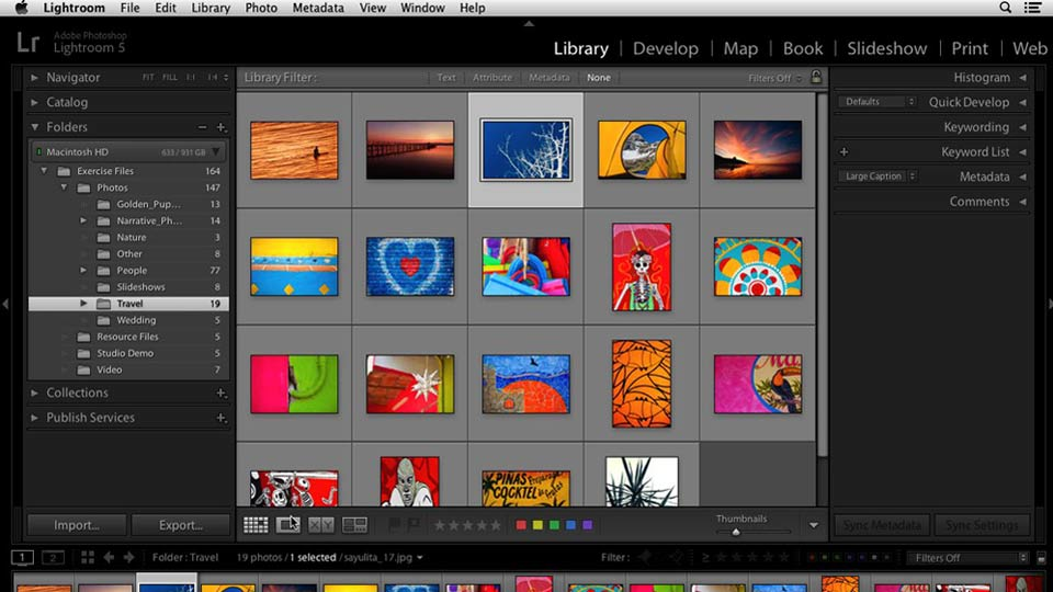 Welcome: Lightroom 5 Essentials: 01 Importing with the Library Module
