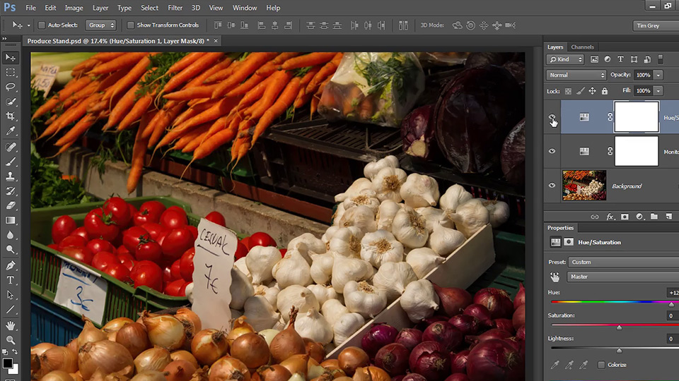 Welcome: Up and Running with Color Correction in Photoshop CC