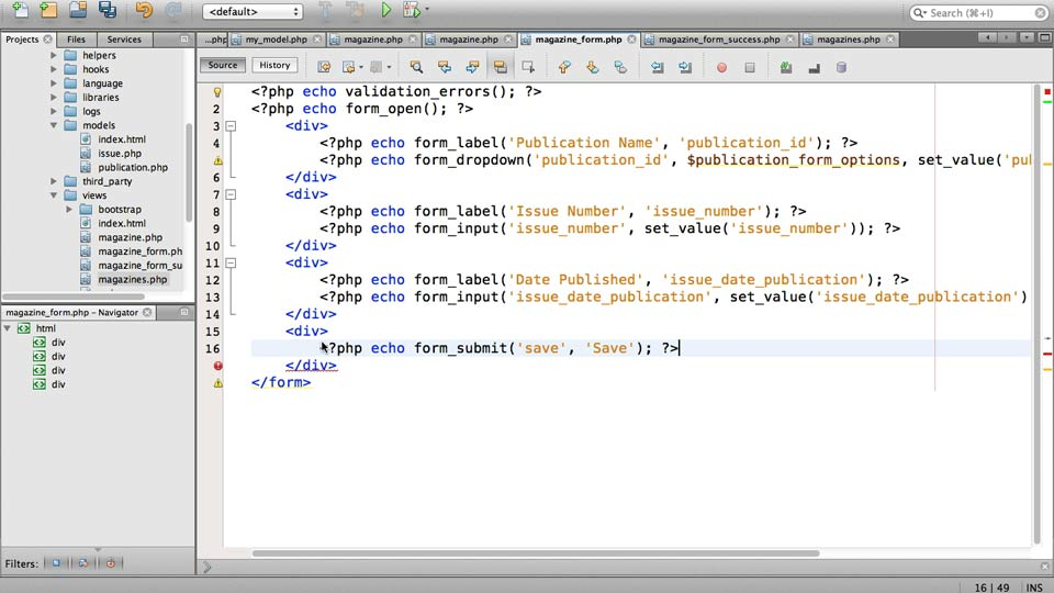Welcome: Up and Running with PHP CodeIgniter (2013)
