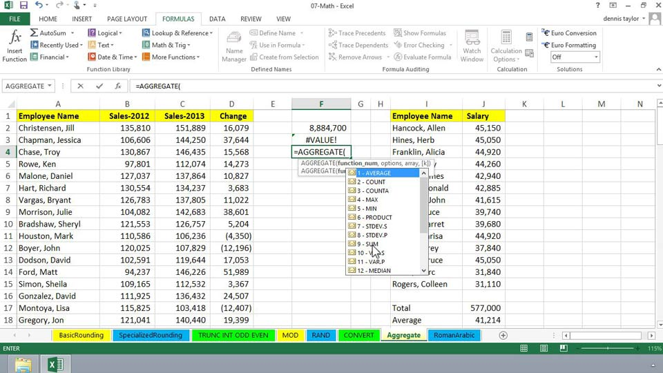 Ediblewildsus  Stunning Excel  Essential Training With Hot Excel  Advanced Formulas And Functions With Astounding Excel Two Variable Data Table Also How To Calculate The Percentage Of Two Numbers In Excel In Addition Median Function Excel And Delete Worksheet Excel As Well As Excel  Subtotal Additionally Subtracting Dates Excel From Lyndacom With Ediblewildsus  Hot Excel  Essential Training With Astounding Excel  Advanced Formulas And Functions And Stunning Excel Two Variable Data Table Also How To Calculate The Percentage Of Two Numbers In Excel In Addition Median Function Excel From Lyndacom