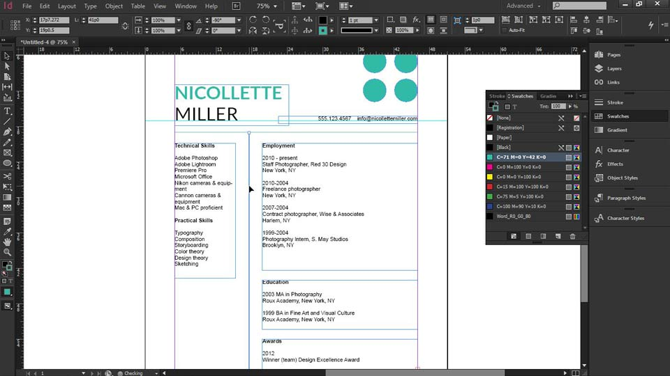 Welcome: Designing a Resume