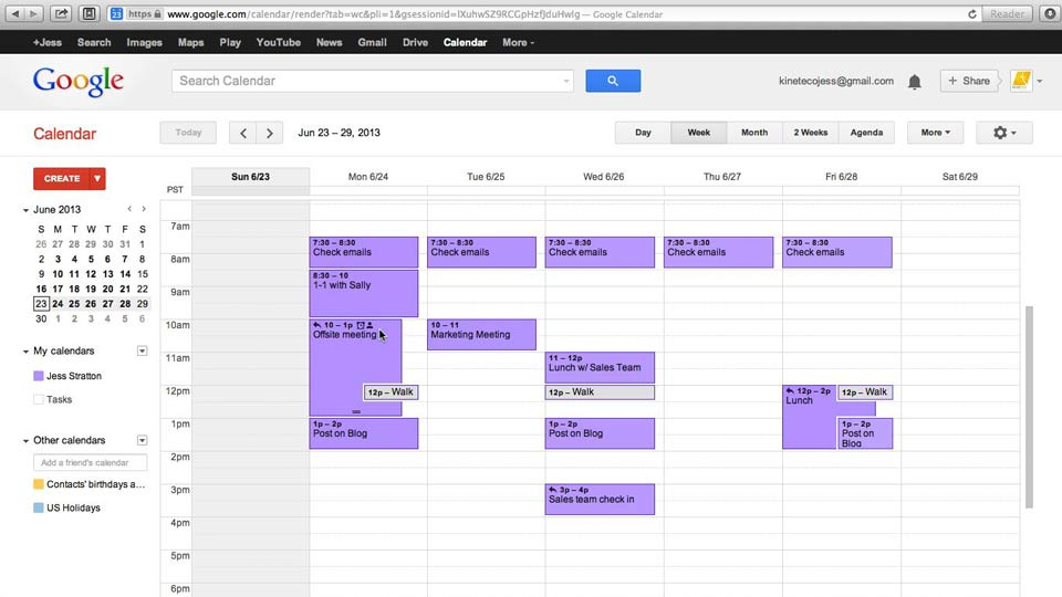 : Google Calendar Essential Training (2013)