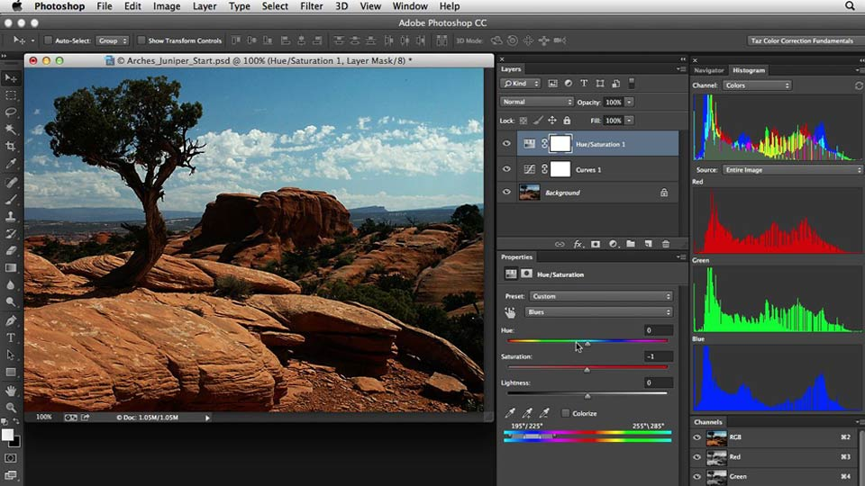 Welcome: Photoshop Color Correction: Fundamentals