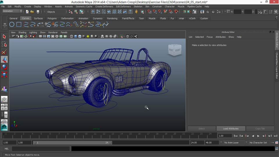 Welcome: Vehicle Rigging in Maya