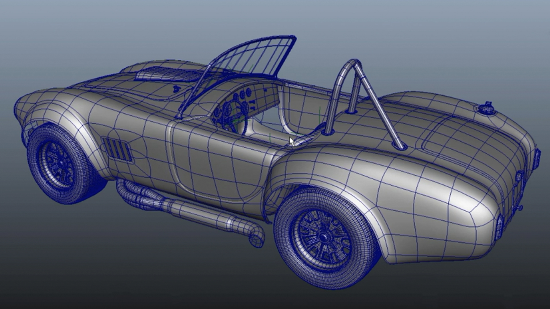 Vehicle Rigging in Maya