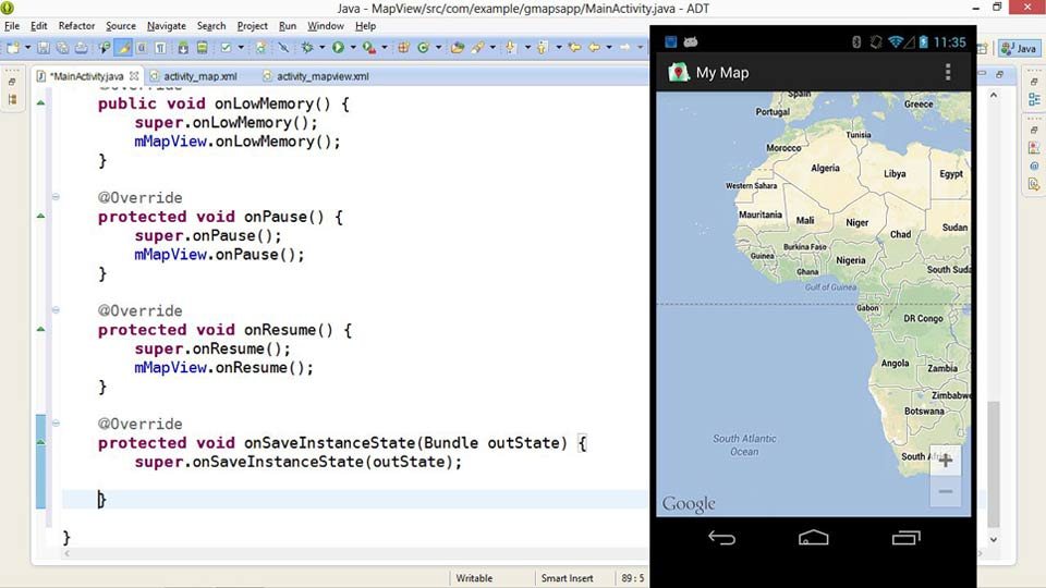 building mobile apps with google maps android api v2