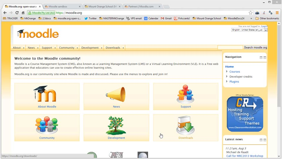 Welcome: Moodle 2.4 Essential Training