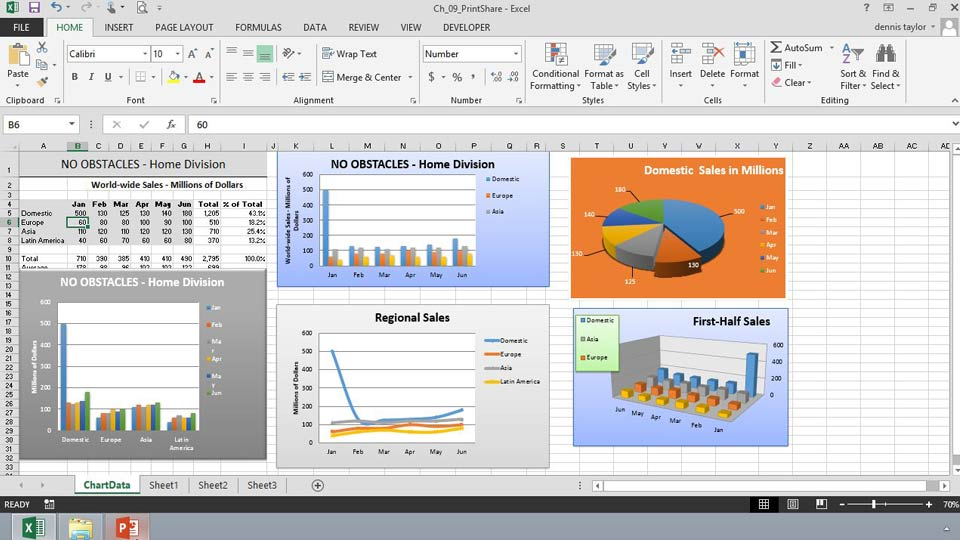 : Excel 2013: Charts in Depth