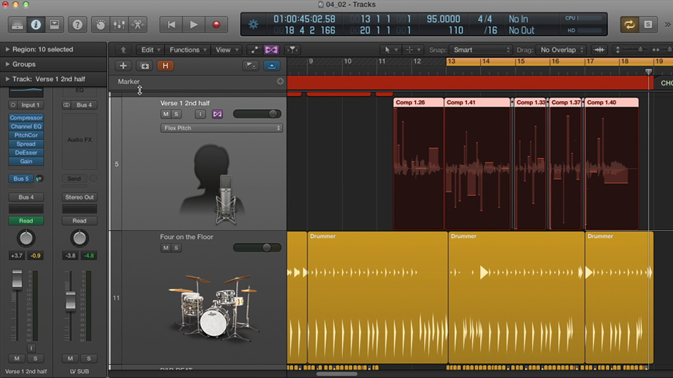 Welcome: Logic Pro X New Features (2013)
