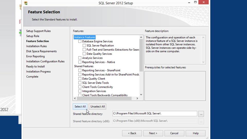 Welcome: Installing SQL Server 2012