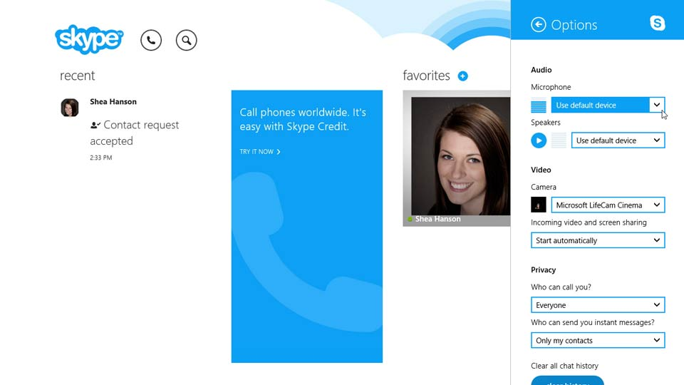 Welcome: Up and Running with Skype for Windows