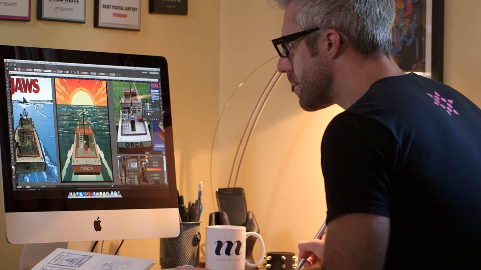 The Creative Spark: James White, Visual Artist and Designer - Preview: The Creative Spark: James White, Visual Artist and Designer