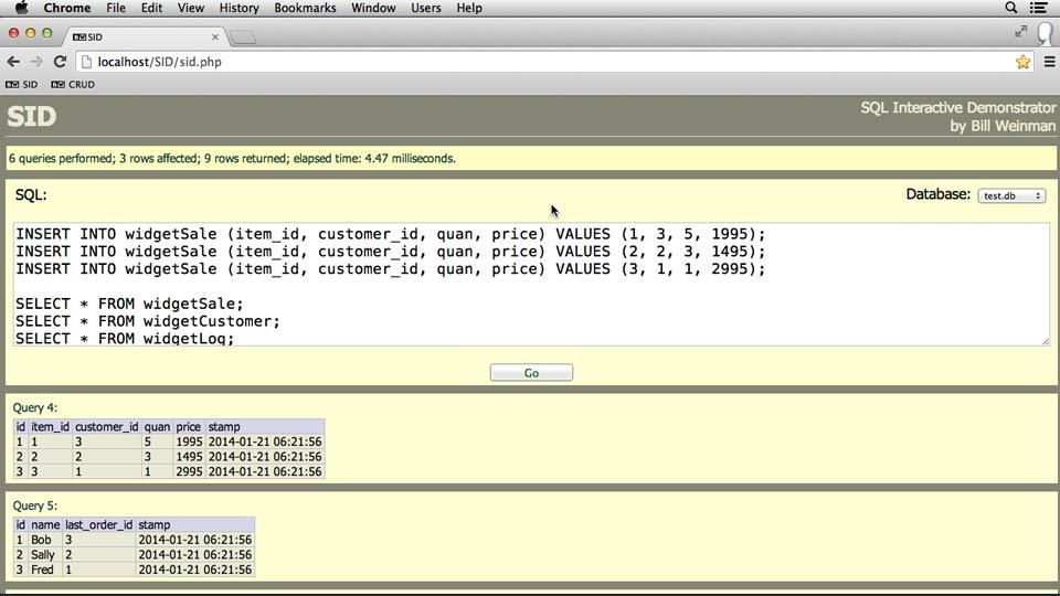 : SQL Essential Training