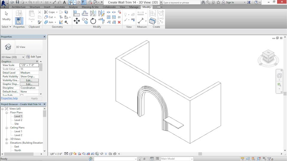 Revit For Interior Design Walls Preview Course