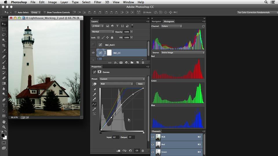 Welcome: Photoshop Color Correction: Dark Color Cast