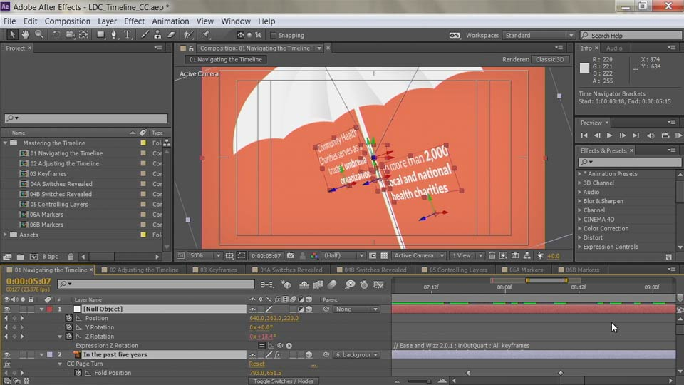 Welcome: After Effects Guru: Mastering the Timeline