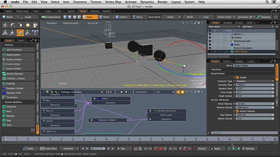 Welcome: Dynamics and Particles in MODO