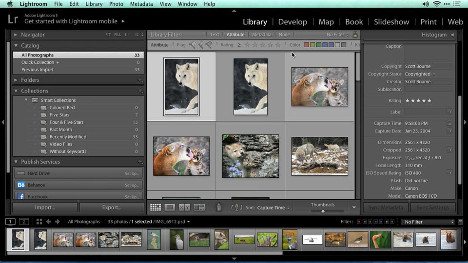 Welcome: Migrating from Aperture to Lightroom
