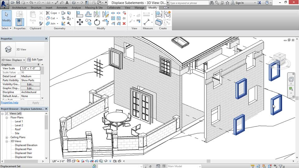Revit Construction Modeling Tools