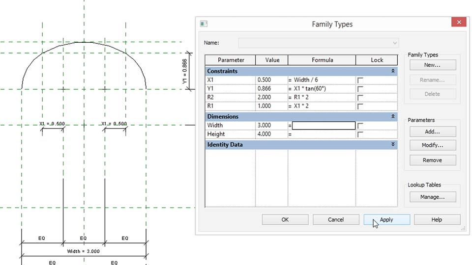 Welcome: Revit: Family Curves and Formulas