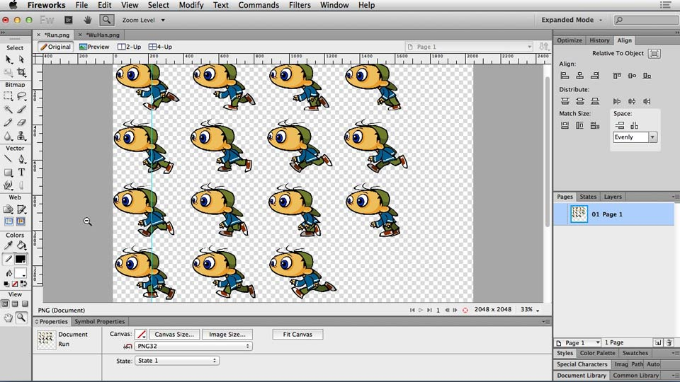 Project overview and plan: Web Motion for Beginners: Animate a CSS Sprite Sheet