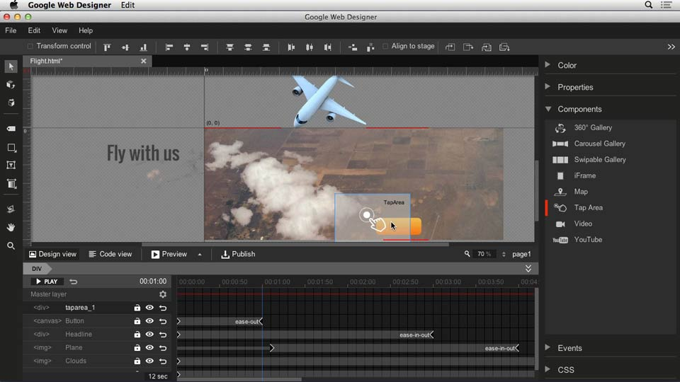 : Web Motion for Beginners: Create a Parallax Effect