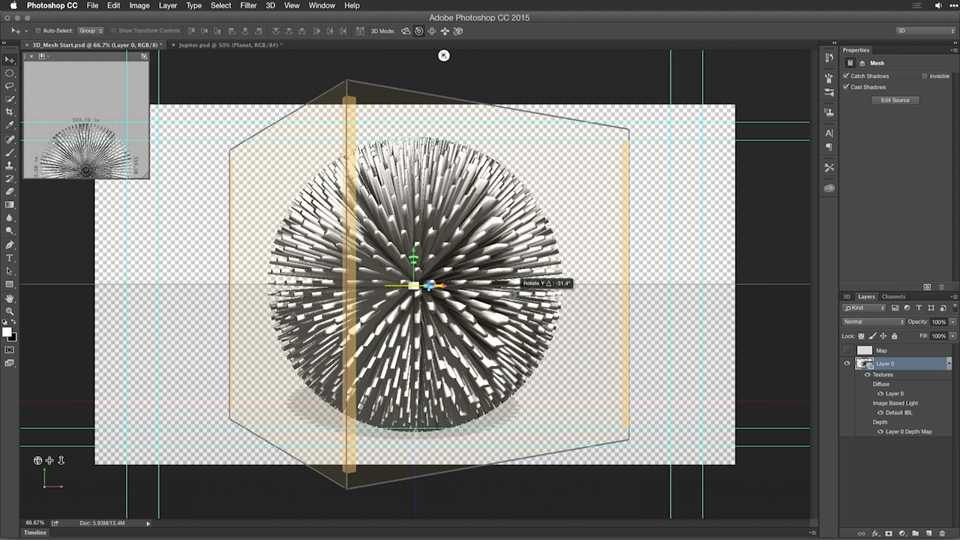 Motion graphics for video editors working with 3d objects for 3d object editor