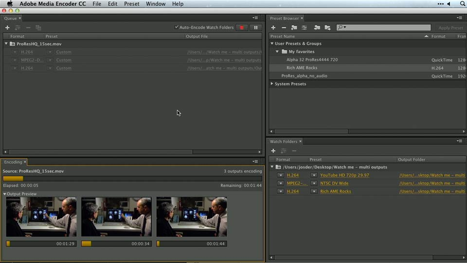 Welcome: Premiere Pro Guru: Outputs and Media Encoder