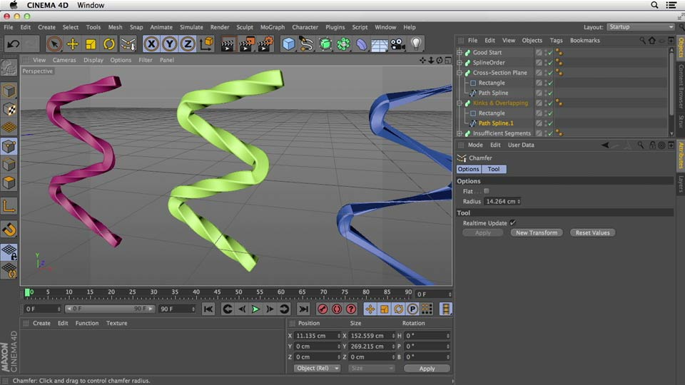 Welcome: Primitive and Spline Modeling in CINEMA 4D