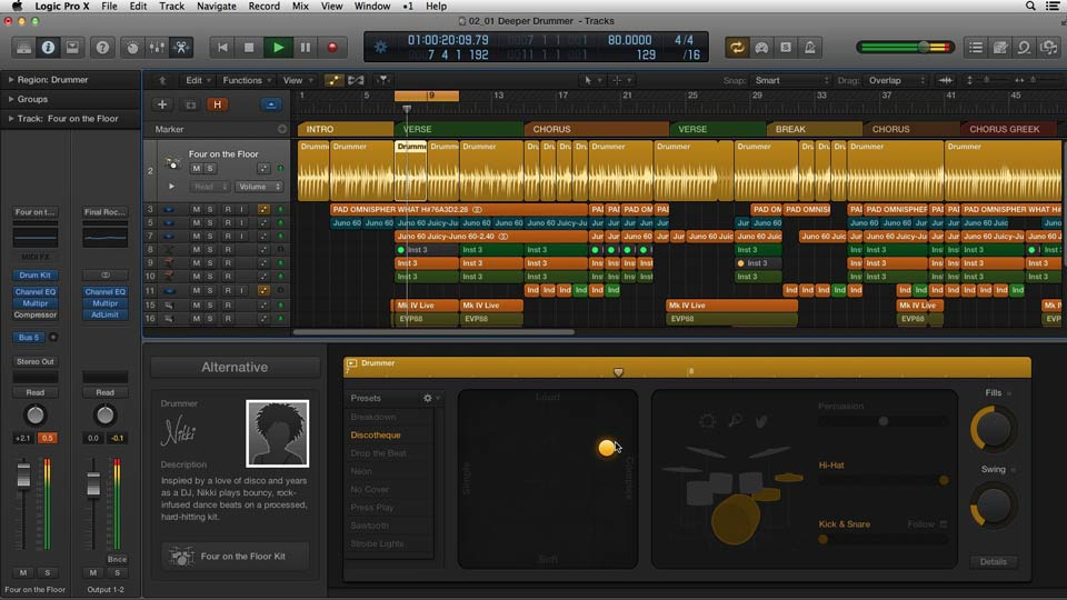Welcome: Making Beats in Logic Pro X
