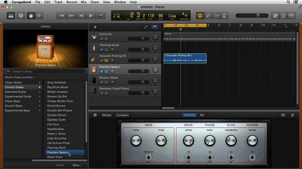 Welcome: GarageBand for Mac New Features