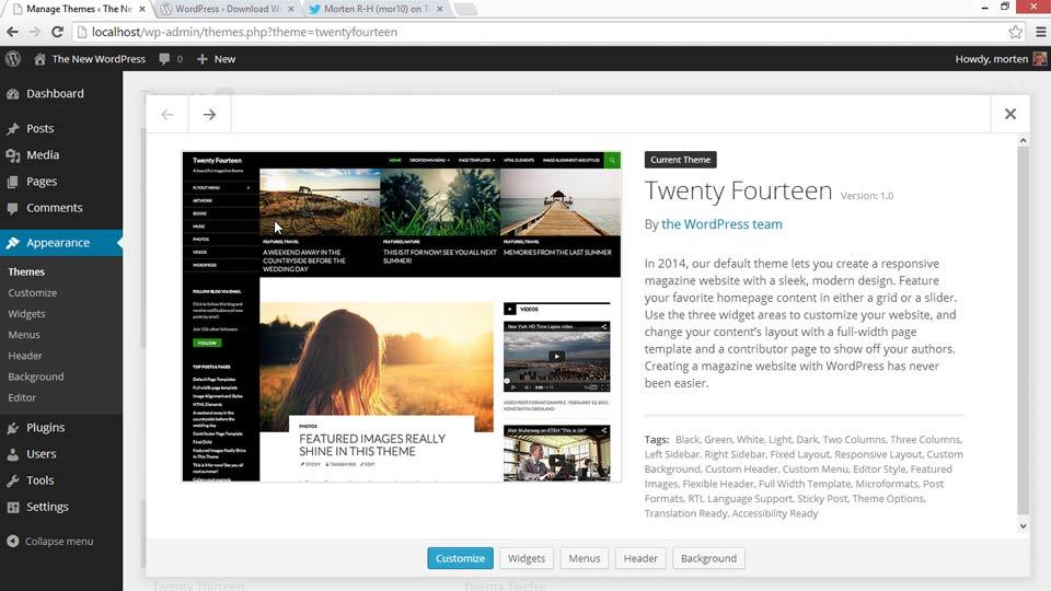 WordPress 3.8 New Features: WordPress 3.8 New Features