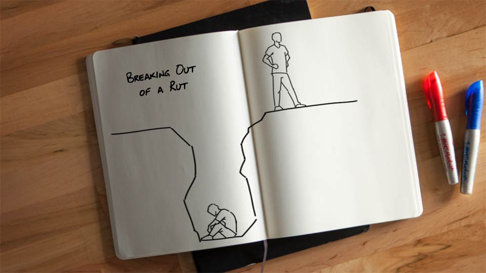 : Breaking Out of a Rut