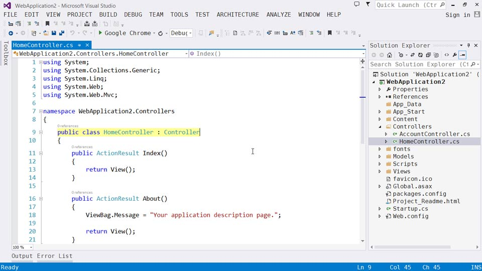 Welcome: Visual Studio 2013 for Web Developers