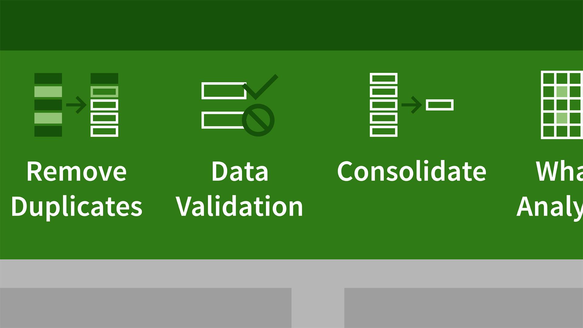 Excel 2013: Data Validation