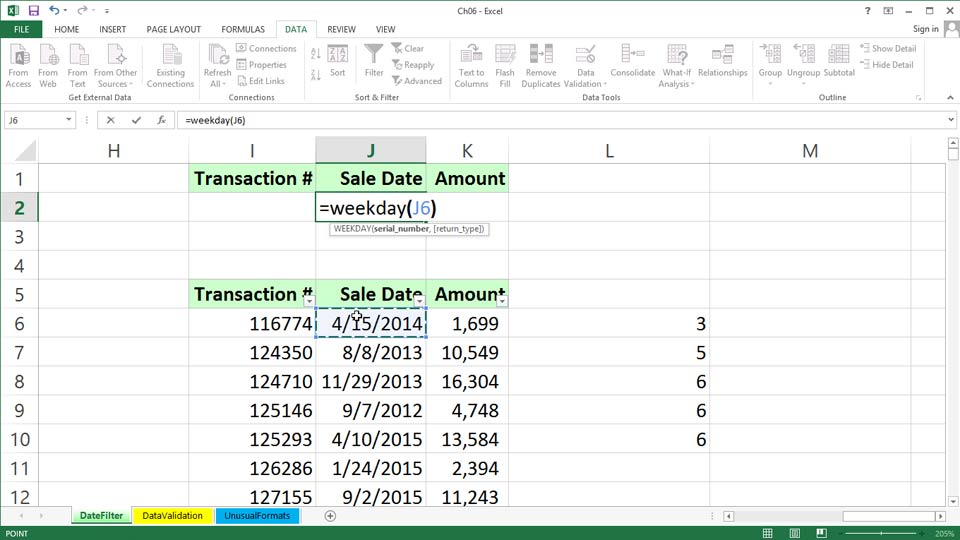 : Excel 2013: Working with Dates and Times