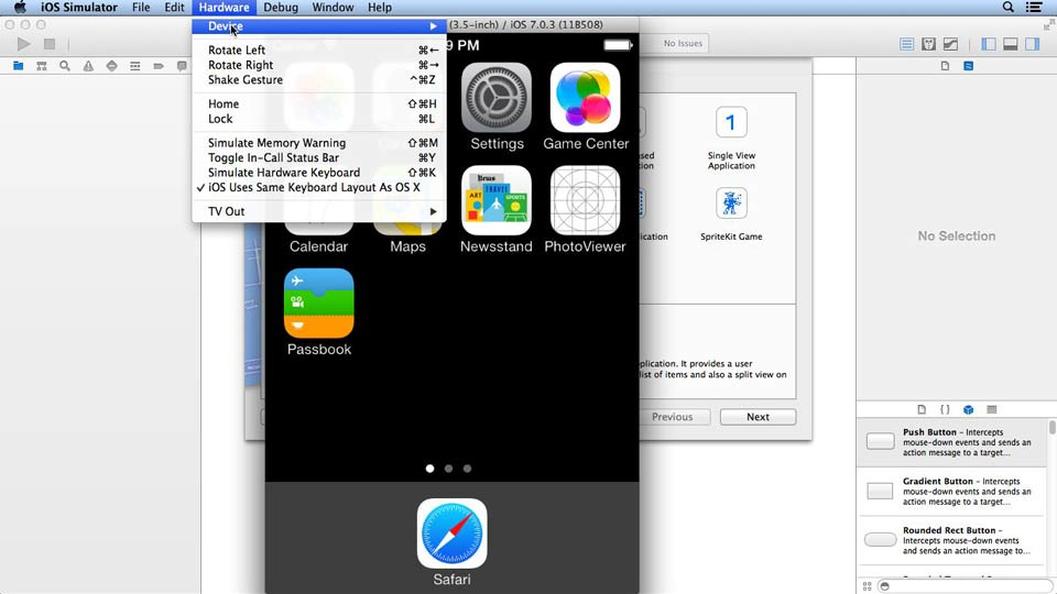 : iOS App Development Essential Training