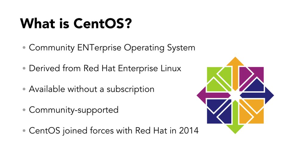 Welcome: Up and Running with CentOS Linux