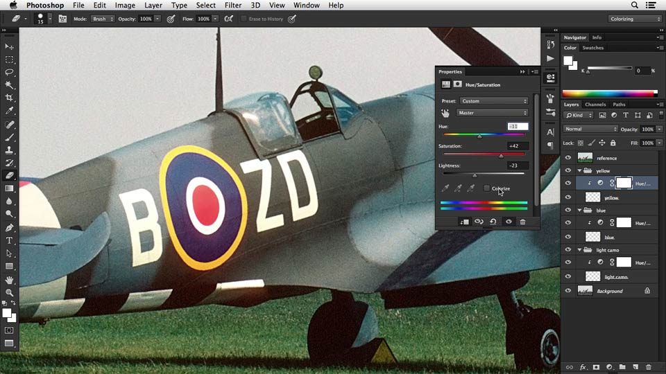 Introduction: Recolorizing a Photograph with Photoshop