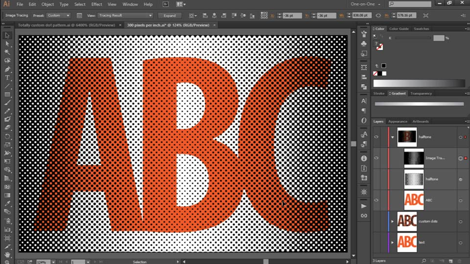how to use color gradient in illustrator